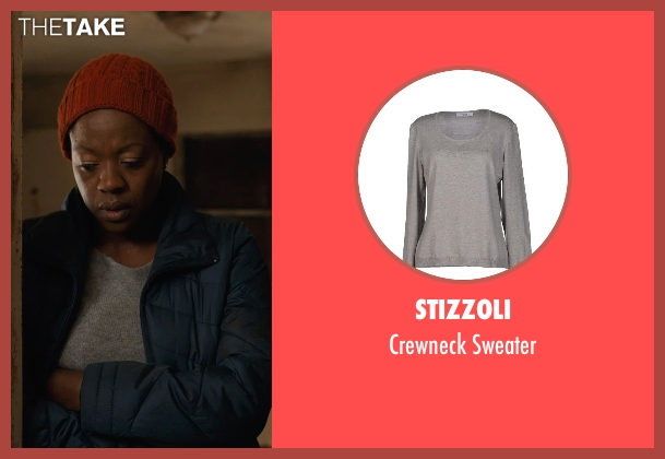 Stizzoli gray sweater from Prisoners seen with Viola Davis (Nancy Birch)