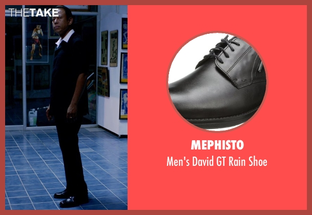Mephisto black shoe from Only God Forgives seen with Vithaya Pansringarm (Chang)