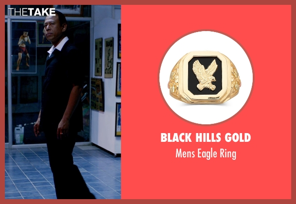 Black Hills Gold gold ring from Only God Forgives seen with Vithaya Pansringarm (Chang)