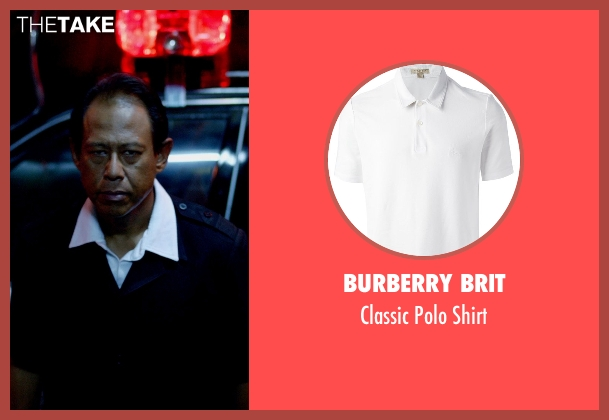Burberry Brit white shirt from Only God Forgives seen with Vithaya Pansringarm (Chang)