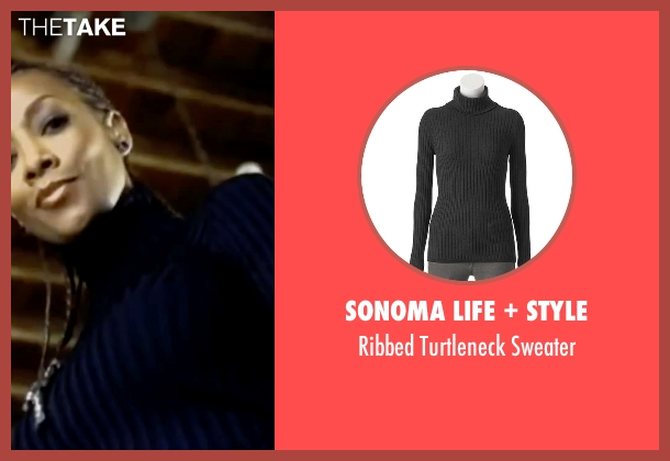 Sonoma Life + Style black sweater from Kill Bill: Vol. 1 seen with Vivica A. Fox (Vernita Green)