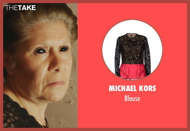Michael Kors black blouse from Ouija seen with Vivis Colombetti (Nona)