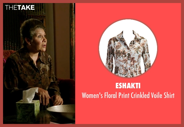 eShakti brown shirt from Ouija seen with Vivis Colombetti (Nona)