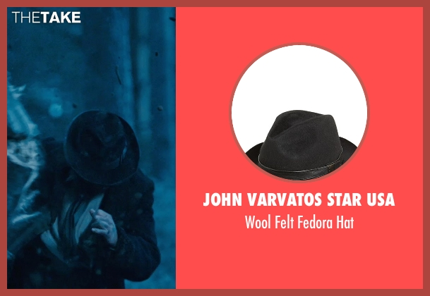 John Varvatos Star USA black hat from Sherlock Holmes: A Game of Shadows seen with Vladimir 'Furdo' Furdik (Andrzej)