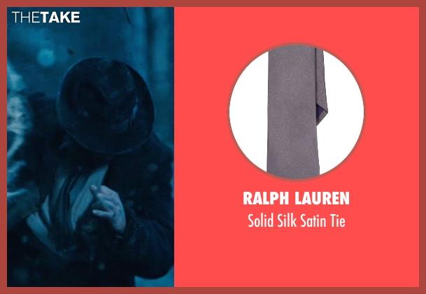 Ralph Lauren gray tie from Sherlock Holmes: A Game of Shadows seen with Vladimir 'Furdo' Furdik (Andrzej)