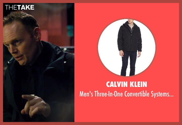Calvin Klein black coat from Walk of Shame