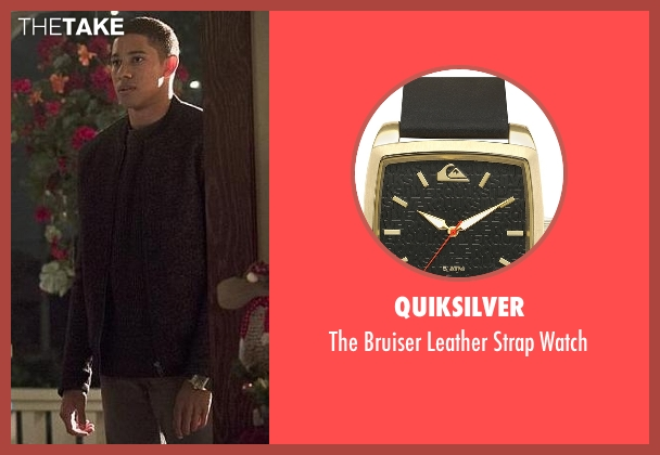 Quiksilver gold watch from The Flash seen with Wally West (Keiynan Lonsdale)