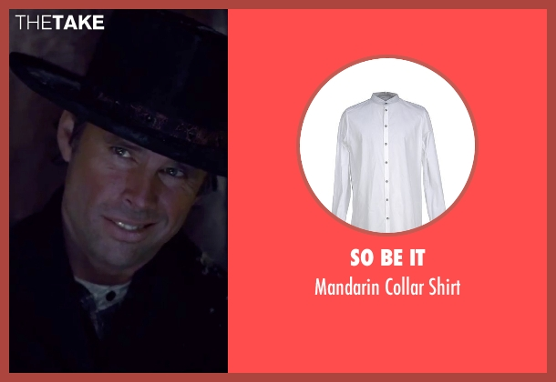 So Be It white shirt from The Hateful Eight seen with Walton Goggins  (Sheriff Chris Mannix)