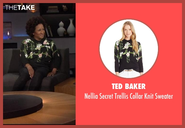 Ted Baker black sweater from Chelsea seen with Wanda Sykes