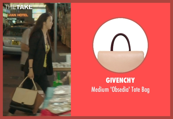 Givenchy brown bag from Blackhat seen with Wei Tang (Chen Lien)