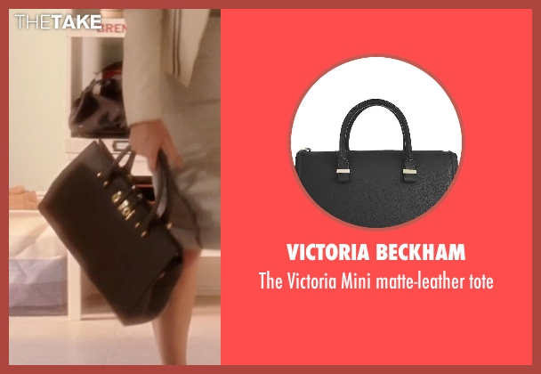 VICTORIA BECKHAM black tote from Blended seen with Wendi McLendon-Covey (Jen)