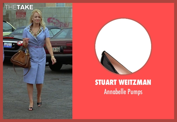 Stuart Weitzman black pumps from Bridesmaids seen with Wendi McLendon-Covey (Rita)