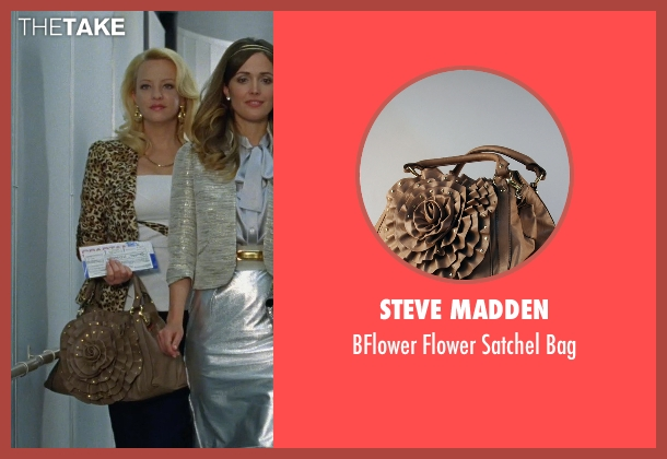 Steve Madden brown bag from Bridesmaids seen with Wendi McLendon-Covey (Rita)