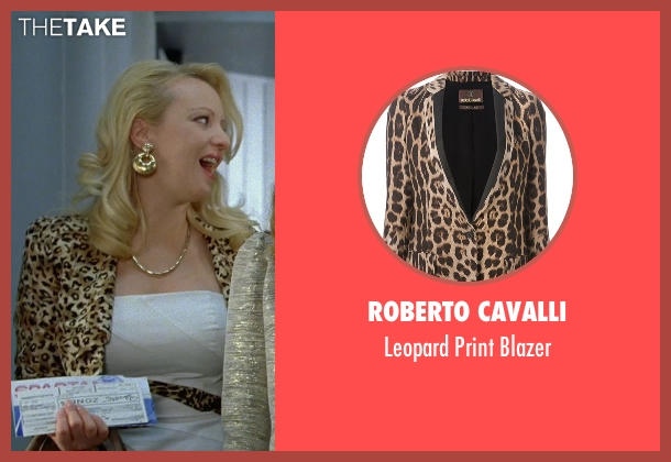 Roberto Cavalli brown blazer from Bridesmaids seen with Wendi McLendon-Covey (Rita)