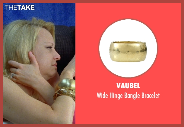 Vaubel gold bracelet from Bridesmaids seen with Wendi McLendon-Covey (Rita)