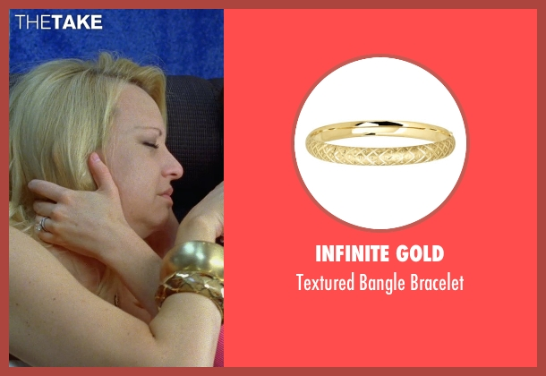 Infinite Gold gold bracelet from Bridesmaids seen with Wendi McLendon-Covey (Rita)