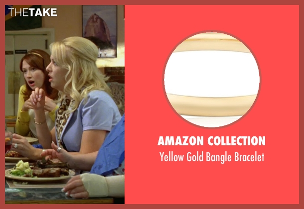 Amazon Collection gold bracelet from Bridesmaids seen with Wendi McLendon-Covey (Rita)