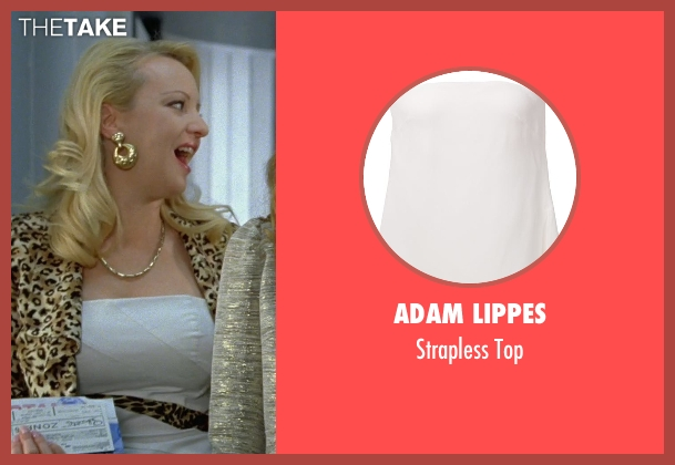 Adam Lippes white top from Bridesmaids seen with Wendi McLendon-Covey (Rita)