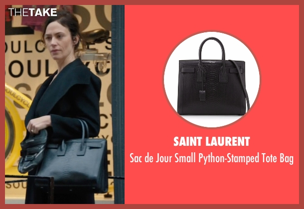 Saint Laurent black bag from Billions seen with Wendy Rhoades (Maggie Siff)