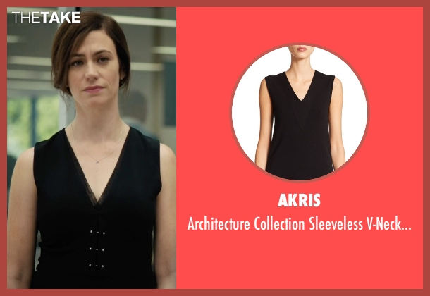 Akris black top from Billions seen with Wendy Rhoades (Maggie Siff)