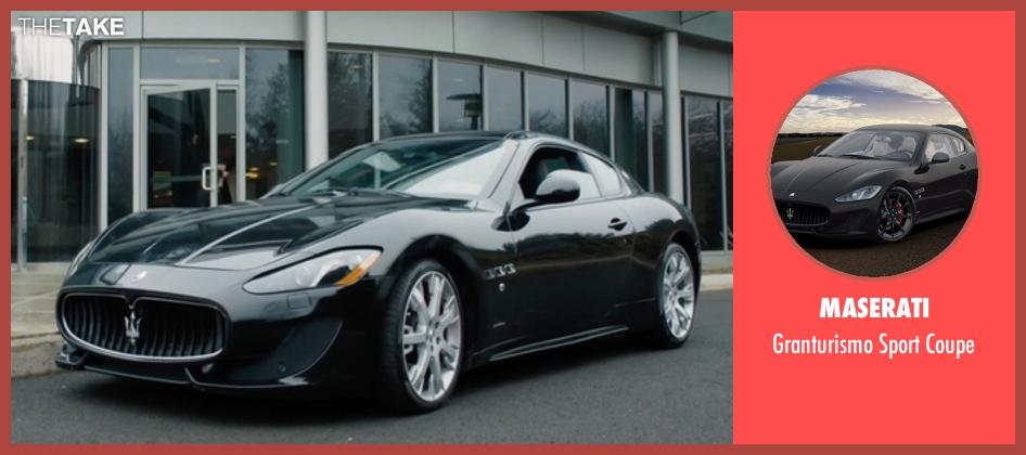 Maserati Granturismo Sport >> Wendy Rhoades's Maserati Granturismo Sport Coupe from Billions - Season 1 Episode 12 | TheTake