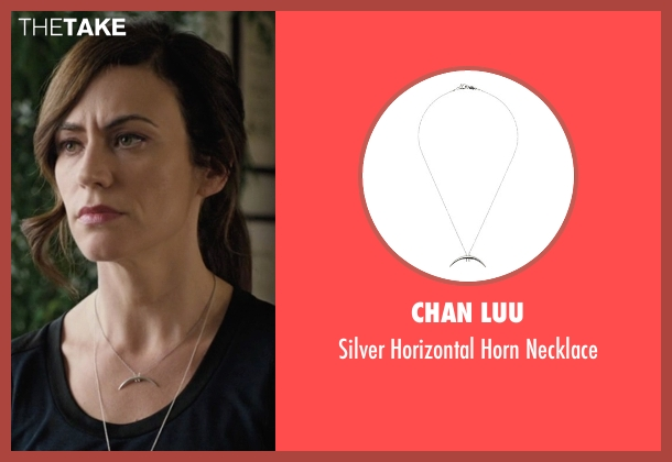 Chan Luu silver necklace from Billions seen with Wendy Rhoades (Maggie Siff)
