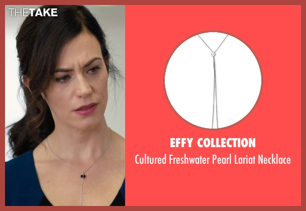 EFFY Collection silver necklace from Billions seen with Wendy Rhoades (Maggie Siff)