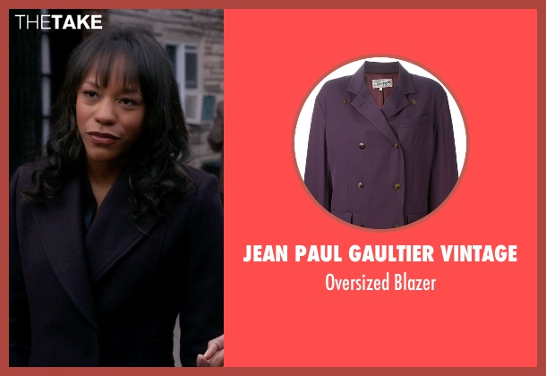 Jean Paul Gaultier Vintage purple blazer from The Good Wife seen with Wendy Scott-Carr (Anika Noni Rose)