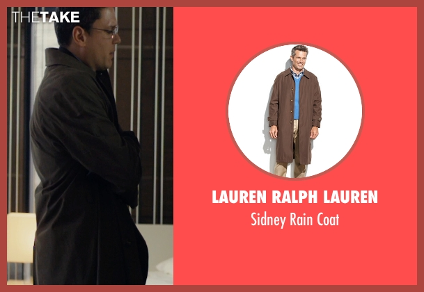 Lauren Ralph Lauren brown coat from The Loft seen with Wentworth Miller (Luke Seacord)