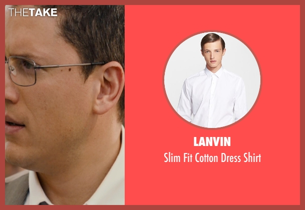Lanvin white shirt from The Loft seen with Wentworth Miller (Luke Seacord)