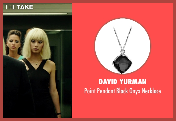 David Yurman silver necklace from The Transporter: Refueled seen with Wenxia Yu (Unknown Character)