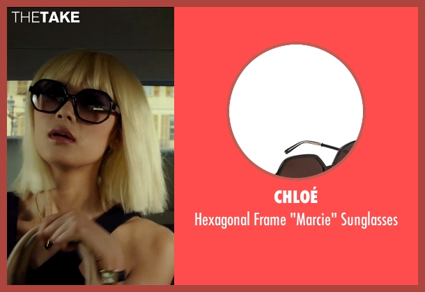 Chloé sunglasses from The Transporter: Refueled seen with Wenxia Yu (Unknown Character)