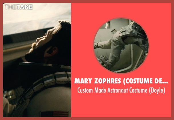 Mary Zophres (Costume Designer) costume from Interstellar seen with Wes Bentley (Doyle)
