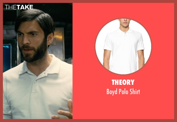 Theory white shirt from Interstellar seen with Wes Bentley (Doyle)