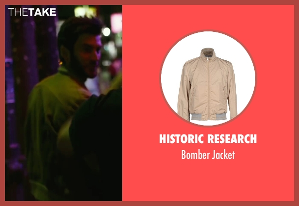 Historic Research beige jacket from We Are Your Friends seen with Wes Bentley (James)