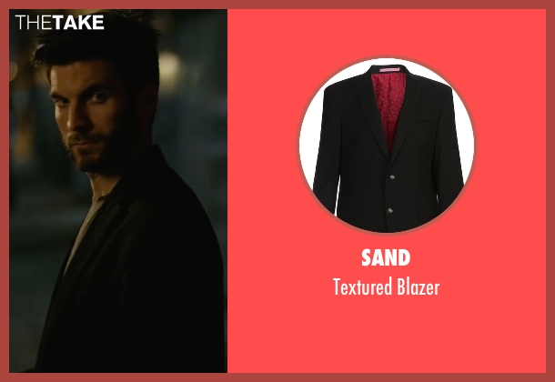 Sand black blazer from We Are Your Friends seen with Wes Bentley (James)