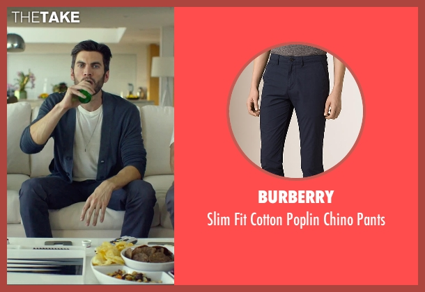 Burberry blue pants from We Are Your Friends seen with Wes Bentley (Unknown Character)