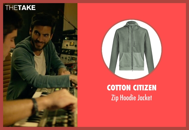Cotton Citizen green jacket from We Are Your Friends seen with Wes Bentley (Unknown Character)