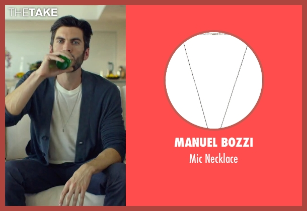 Manuel Bozzi silver necklace from We Are Your Friends seen with Wes Bentley (Unknown Character)