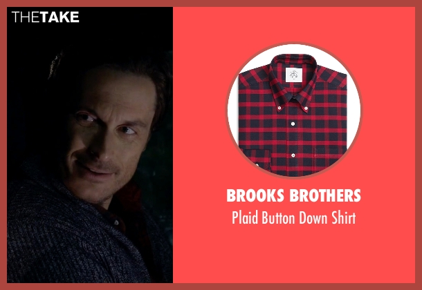 Brooks Brothers red shirt from Scream Queens seen with Wes Gardner (Oliver Hudson)
