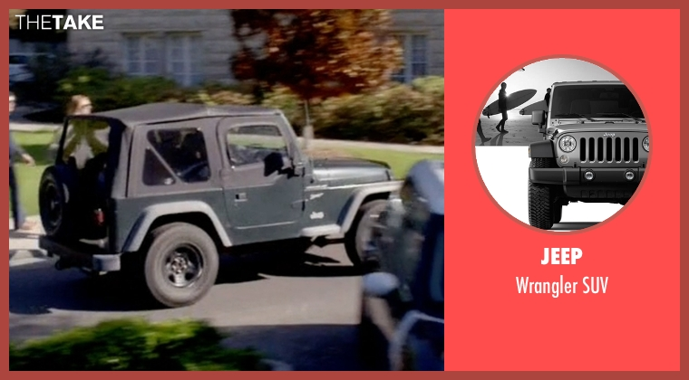 Jeep suv from Scream Queens seen with Wes Gardner (Oliver Hudson)