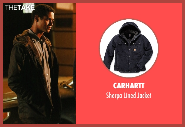 Carhartt black jacket from How To Get Away With Murder seen with Wes Gibbins (Alfred Enoch)