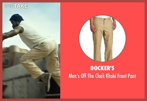 Docker's beige pant from The Expendables 3 seen with Wesley Snipes (Doc)