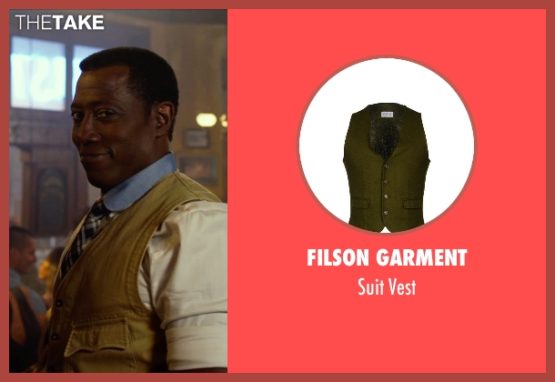 Filson Garment beige vest from The Expendables 3 seen with Wesley Snipes (Doc)