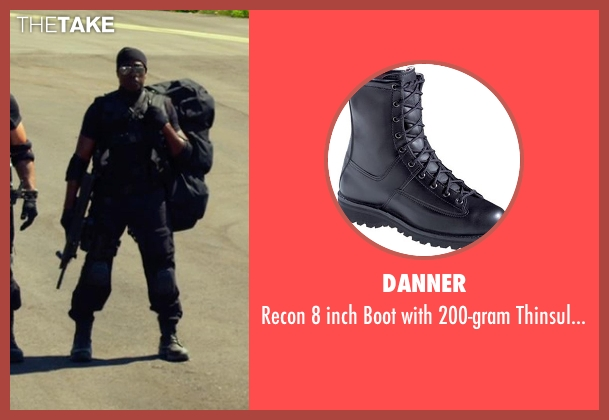 Danner black insulation from The Expendables 3 seen with Wesley Snipes (Doc)