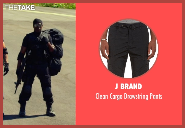 J Brand black pants from The Expendables 3 seen with Wesley Snipes (Doc)