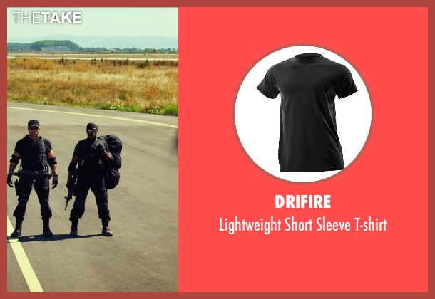 Drifire black t-shirt from The Expendables 3 seen with Wesley Snipes (Doc)