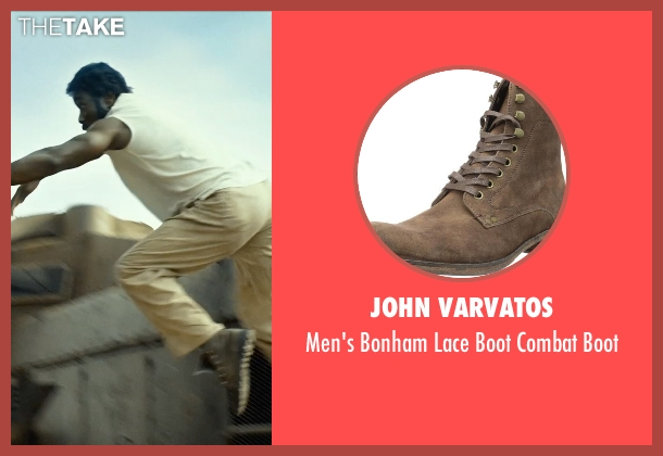 John Varvatos brown boot from The Expendables 3 seen with Wesley Snipes (Doc)
