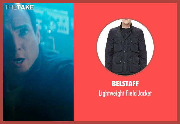 Belstaff black jacket from Teenage Mutant Ninja Turtles (2014) seen with Will Arnett (Vernon Fenwick)