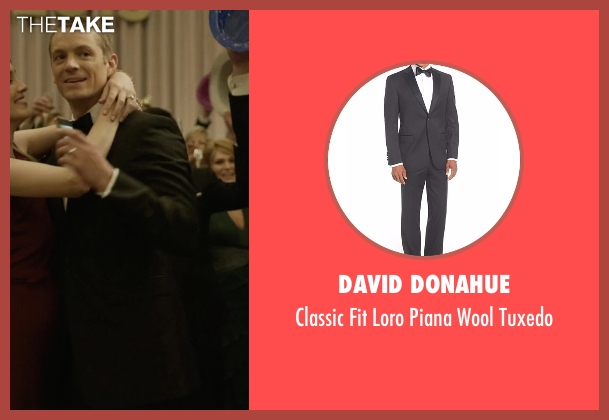 David Donahue black tuxedo from House of Cards seen with Will Conway (Joel Kinnaman)